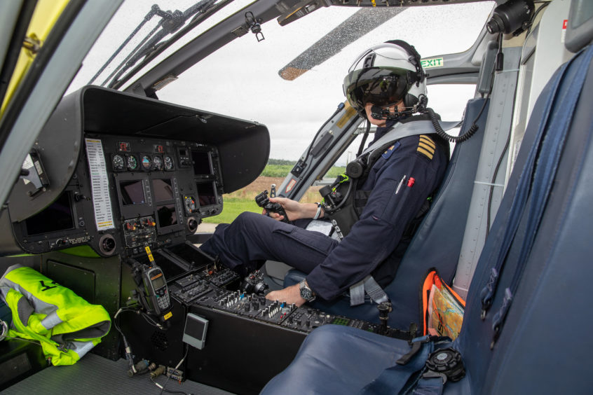 A day in the life: Meet the helicopter crew 'stopping the clock' for