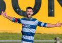 Kane Winton celebrates his goal.