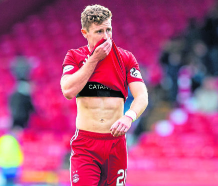 Gallagher could make Dons return on Saturday | Press and Journal