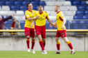 INVERNESS, SCOTLAND - SEPTEMBER 28:  Partick Thistle's Kenny Miller celebrates his goal during the Ladbrokes Championship match between Inverness CT and Partick Thistle at The Caledonian Stadium, on September 28, in Inverness, Scotland (Photo by Bruce White / SNS Group)