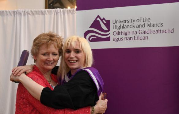 Eleanor Lawrie with her mother Karen