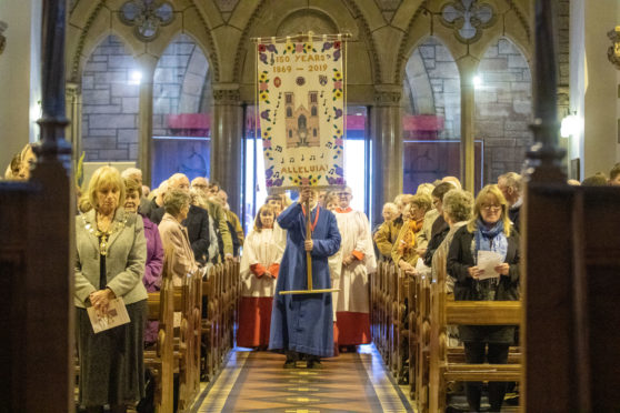 The 150th anniversary of St Andrew's Cathedral.