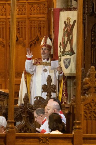 Bishop Mark Strange.