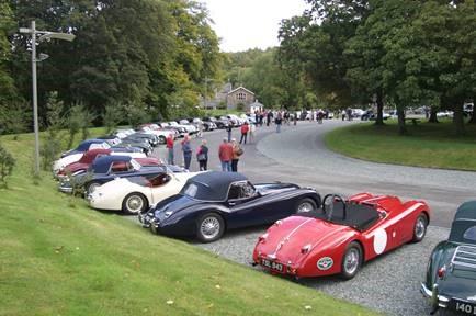 Jaguar XK types raising cash.