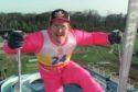 British Olympic ski jumper Eddie 'The Eagle' Edwards