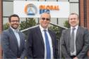 Global E&C Corporate Development Director, Terry Allan - Global Energy Group Chairman, Roy MacGregor and Global E&C Managing Director, Derek Mitchell