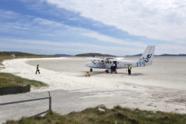 The runway on Barra.