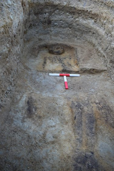 For more than two weeks, thorough excavations were undertaken on the site