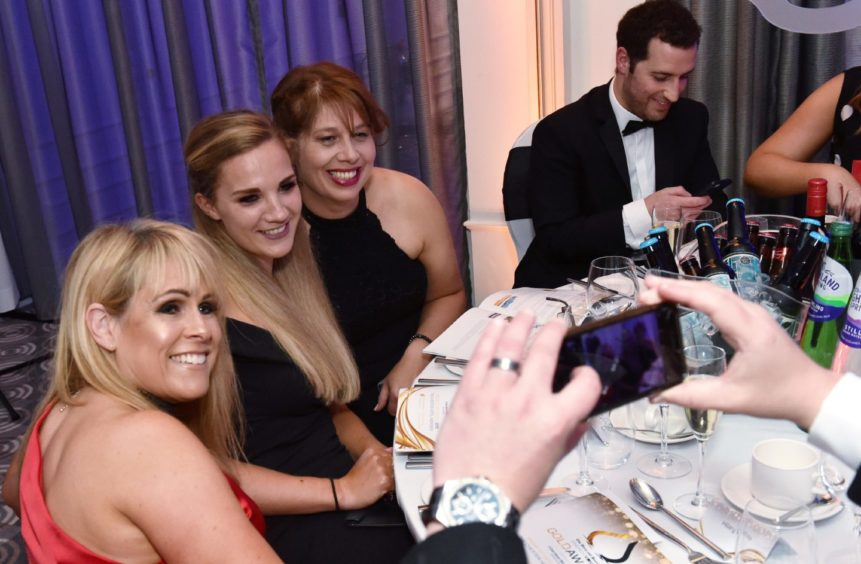 The Press and Journal - Energy Voice - Gold Awards. Picture by COLIN RENNIE