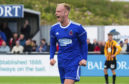 Cove Rangers midfielder Jordon Brown.