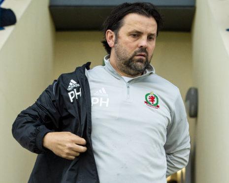 Cove Rangers boss Paul Hartley.