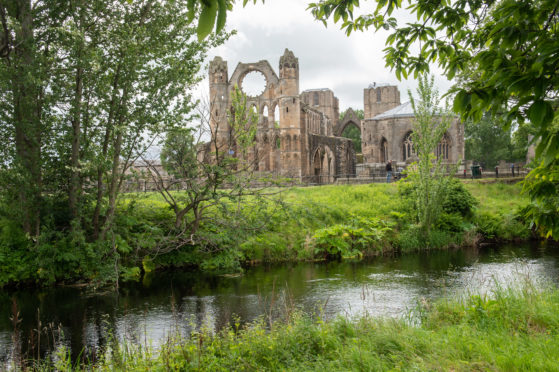 Elgin Cathedral  Picture by JASON HEDGES
