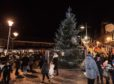 Peterhead Christmas lights switch-on