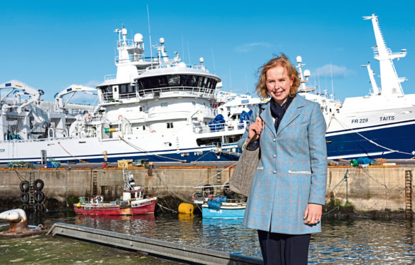 Scottish Fishermen's Federation chief executive Elspeth Macdonald