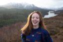18-year-old Rhiannon Hopcroft from Drumnadrochit.