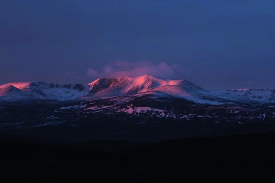 Lochnagar at Dawn