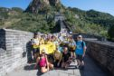 More than £35,000 was raised during The Archie Foundation's previous trek of the Great Wall of China in 2018