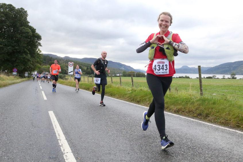 Baxters Loch Ness Marathon 2019. Credit: Andrew Smith
