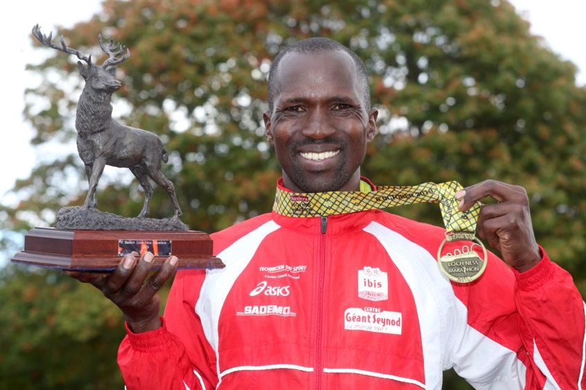Isaiah Kosgei from Kenya. Credit: Andrew Smith