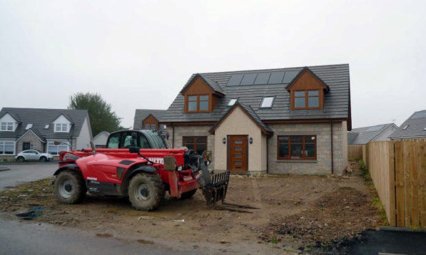 Aberdeenshire Council has ordered the demolition of the house built by Ladysbridge Village Ltd