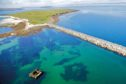 The Churchill Barriers protected Scapa Flow and were built on the orders of Sir Winston Churchill following the German submarine attack on HMS Royal Oak. Picture: Destination Orkney