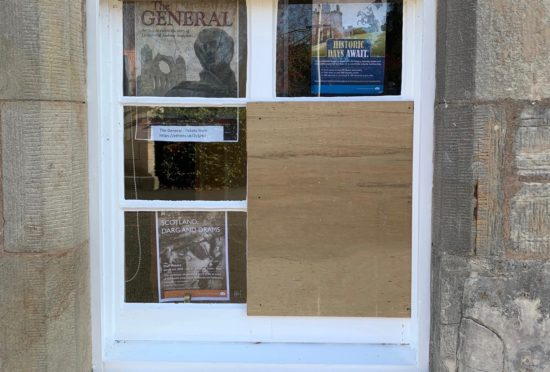 Police seek vandals who targeted Elgin Cathedral shop | Press and Journal