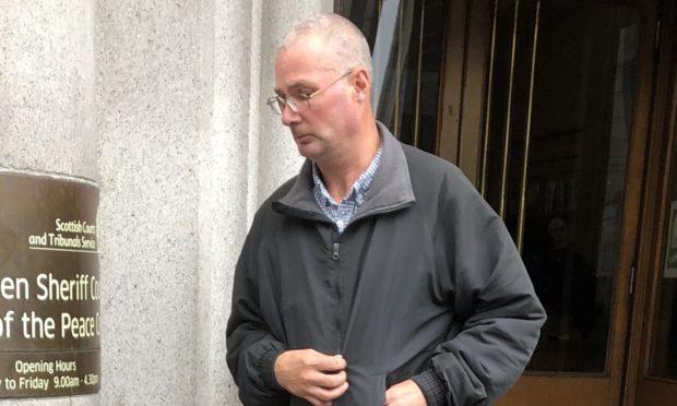 Alan Merchant pictured leaving court