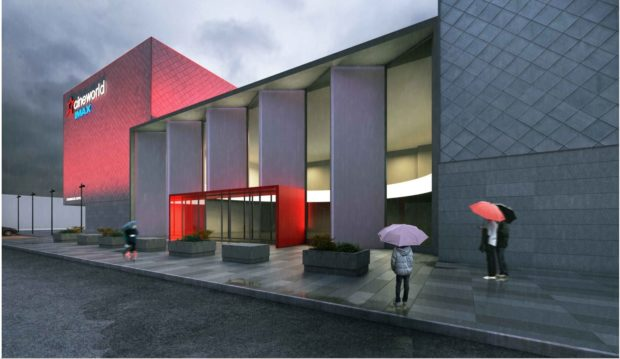 Artist's impression of what the new Imax could look like