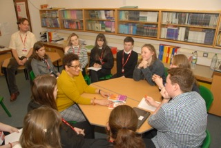 Jackie Kay delivered workshops to local school pupils as part of Mallaig Book Festival