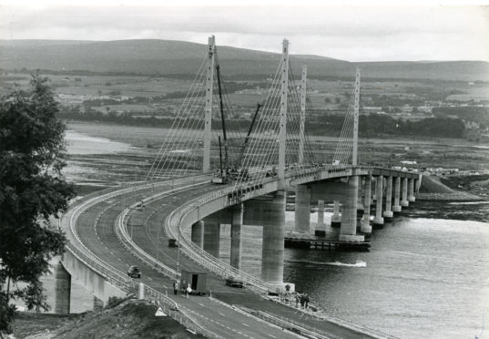 FROM THE ARCHIVES: The day the Kessock Bridge opened | Press and Journal