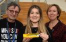 Mark Craig, Gemma Henderson and Fiona Raeburn
