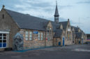 Picture by JASON HEDGES   Locators of Burghead Library in Moray, shot earlier today.