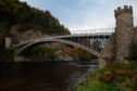 Pictures by JASON HEDGES      Pictures show stock images of Craigellachie bridge.  Pictures by JASON HEDGES