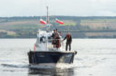 Port of Cromarty Firth took delivery of a new custom-built pilot boat – the Dalmore. Picture by Jason Hedges