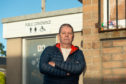 Pictures by JASON HEDGES     Buckie Councillor Gordon Cowie is pictured at the Buckie Public toilets on Newlands Road, Buckie, Moray.   Pictures by JASON HEDGES