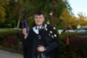 CR0014499 North East Scotland College (NESC) Graduation 2019 at Aberdeen treetops Hotel, Aberdeen. Picture of Euan Doyle from Kingswells.  Picture by KENNY ELRICK     09/10/2019
