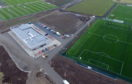 Aerial Image of Aberdeen Football Club's new training facility at Cormack Park, Kingsford, Kingswell, Aberdeenshire.    Picture by KENNY ELRICK
