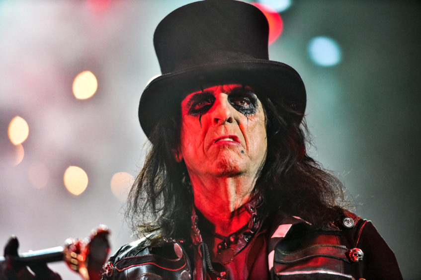 Alice Cooper at P&J Live. Pictures by Scott Baxter