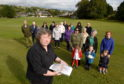 Jenny Maclennan of the Maryburgh Amenities Company Ltd and also the Maryburgh Community Council some of the villagers who are objecting to the proposals.