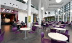A cafeteria area within the Sir Ian Wood building at RGU.