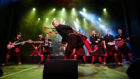 The Red Hot Chilli Pipers will headline the inaugural Forres Live event.