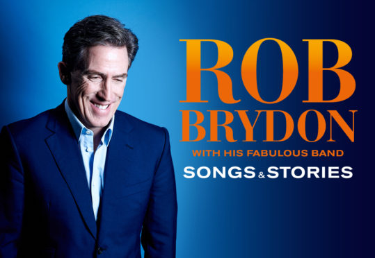 Rob Brydon has announced he is coming to Aberdeen's Music Hall as part of a brand new show.
