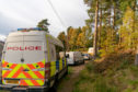 The attack happened at Birkenhill Woods, south of Elgin.