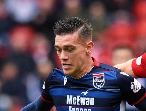Ross County winger Josh Mullin.