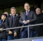 AYR, SCOTLAND - OCTOBER 05: Inverness Chief Executive Scot Gardiner (R) is pictured during the Ladbrokes Championship match between Ayr United and Inverness CT, at Somerset Park, on October 05, 2019, in Ayr, Scotland. (Photo by Roddy Scott / SNS Group)
