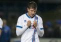 Caley Thistle striker Nikolay Todorov.