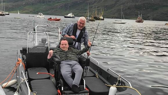 The Ullapool-based Scottish Wildlife Trust - Living Seas has fitted a special 8ft ramp to its boat Mada-Chuain to enable less-able bodied to enjoy the marine environment.