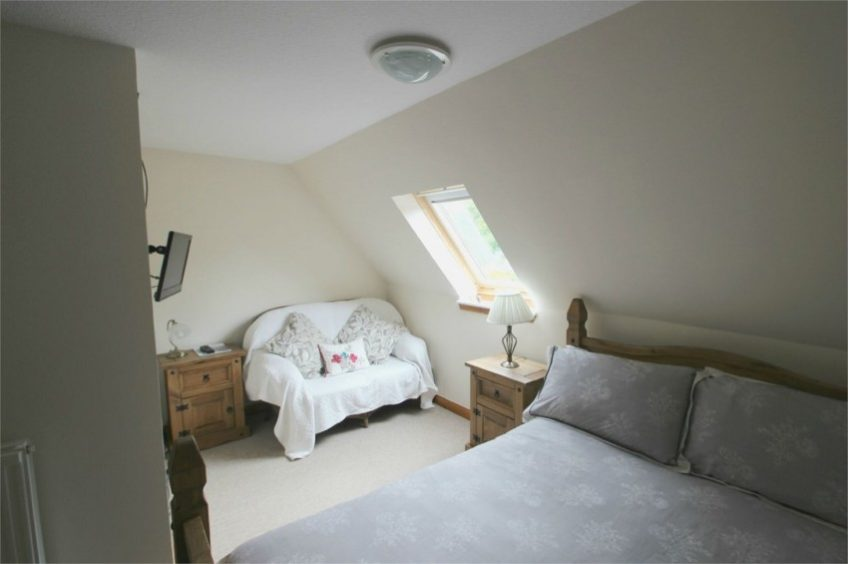 two en-suite rooms to let are also part of the package