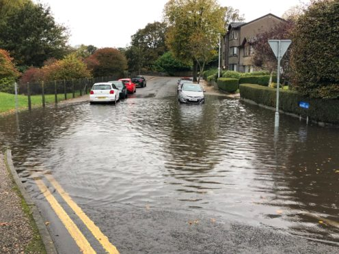 Heavy rains hits the north-east as police advise commuters to avoid flooded
