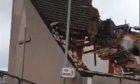 Demolition of Pinegrove Hotel in Elgin